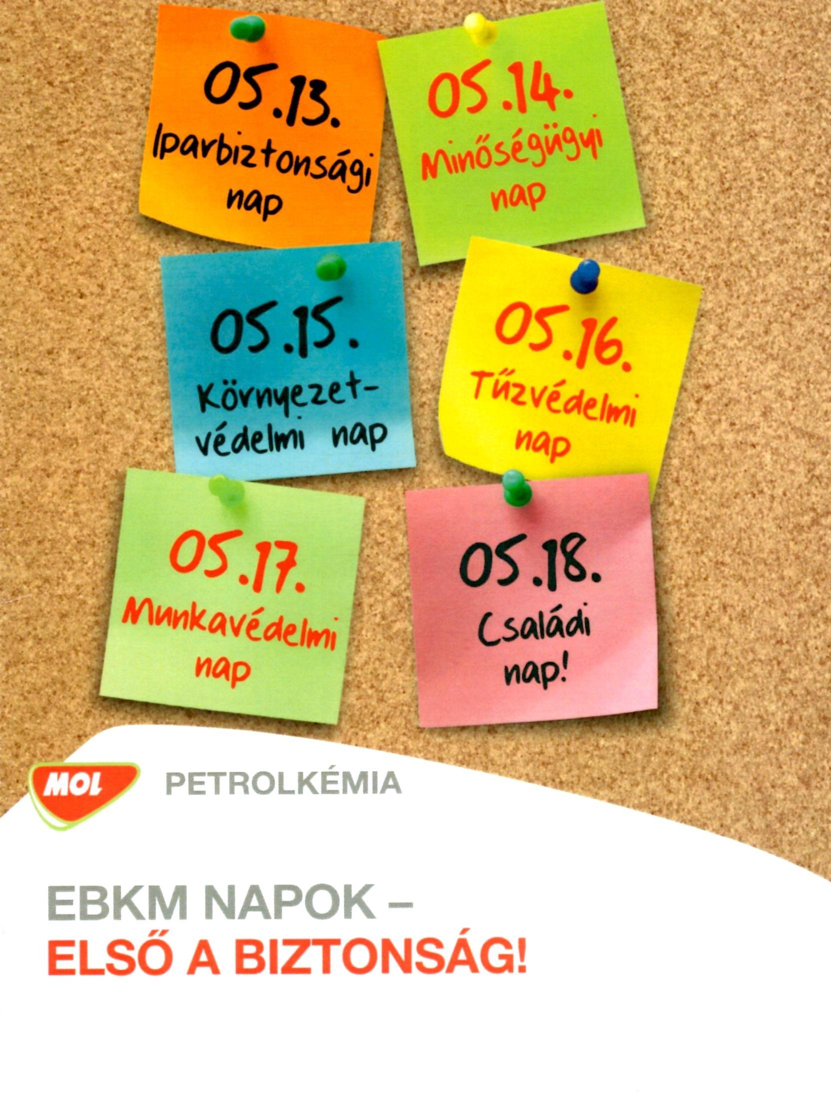 MOL Petrolkémia EBK napi előadás