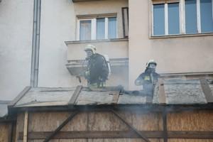 Tűz az M4 metró építkezésen